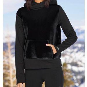 NWT Alo Yoga Velvet hoodie